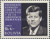 [Airmail - The 5th Anniversary of the Death of John F. Kennedy, U.S. President, Typ NE1]
