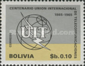 [The 100th Anniversary of the ITU, 1965, Typ NI]