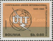 [The 100th Anniversary of the ITU, 1965, Typ NI1]