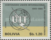[The 100th Anniversary of the ITU, 1965, Typ NI2]