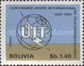 [The 100th Anniversary of the ITU, 1965, Typ NI3]
