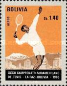 [Airmail - South American Tennis Championships, La Paz, Typ NL3]