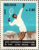 [Airmail - South American Tennis Championships, La Paz, Typ NL4]