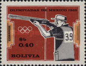 [Olympic Games - Mexico, 1968, type NV]