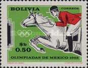 [Olympic Games - Mexico, 1968, type NW]