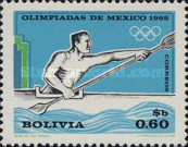 [Olympic Games - Mexico, 1968, type NX]