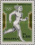 [Airmail - Olympic Games - Mexico, 1968, type NY]