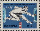 [Airmail - Olympic Games - Mexico, 1968, type OA]