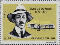 [Airmail Stamps - The 100th Anniversary of the Birth of Alberto Santos Dumont, Aviation Pioneer, type RC]