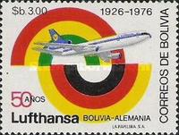 [The 50th Anniversary of the Lufthansa Airline, Typ UT]