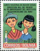 [Christmas 1976 and the 50th Anniversary of the Inter-American Children's Institute, type VL]