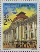 [The 150th Anniversary of the Bolivian Supreme Court, Typ VN]