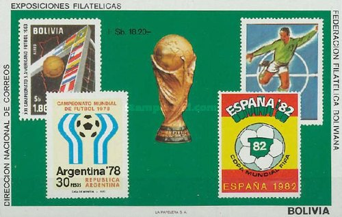 [Airmail - Football World Cup - Argentina '78 & Spain '82, Typ XGB]