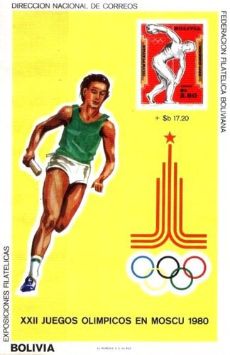 [Airmail - Olympic Games - Moscow, USSR, type XHC]