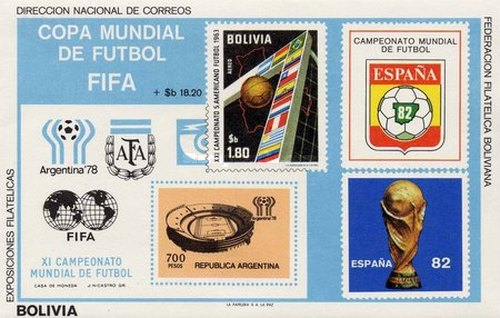 [Football World Cup - Argentina '78 & Spain '82, type XIB]
