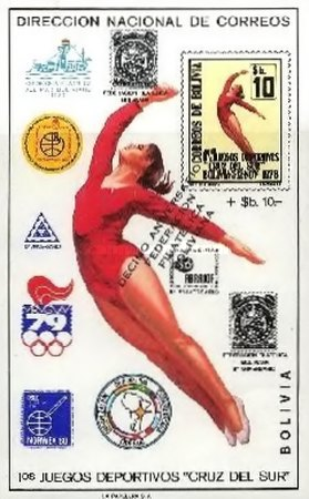 [The 10th Anniversary of the Bolivian Philatelic Federation, Typ XM3]