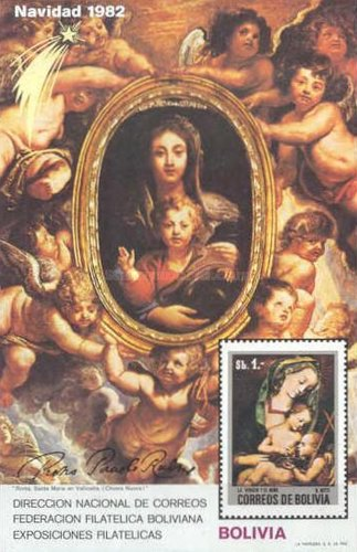[Christmas - Paintings By Peter Paul Rubens, Typ XRA]