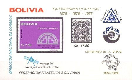 [Stamp Exhibitions 1975-1977 with Anniversaries and Events Overprint, type XSB1]