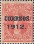 [Revenue Stamps Overprinted