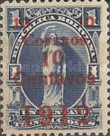 [Revenue Stamp Surcharged, type XXT]