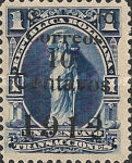 [Revenue Stamp Surcharged, type XXT1]