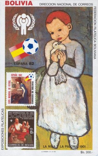 [International Year of the Child & Football World Cup - Spain, type ZAA]