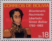 [THe 100th Anniversary of the Birth of Simon Bolivar, Typ ZT]