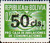 [Issue of 1952 Surcharged, Typ G]