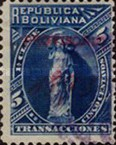 [Lady Justice Stamps of 1884 Overprinted