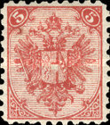 [Coat of Arms - Denomination in Top Corners, Typ A5]