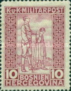 [Charity Stamps, Typ AE]