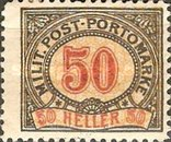 [Postage-Due Stamps, Typ A11]