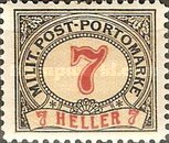 [Postage-Due Stamps, Typ A6]