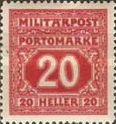 [Postage-Due Stamps, Typ B6]