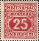 [Postage-Due Stamps, Typ B7]