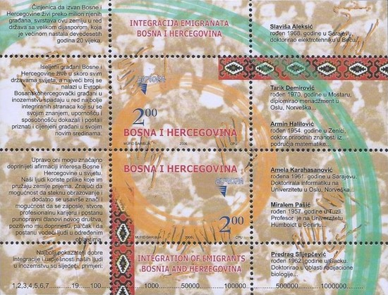 [EUROPA Stamps - Integration through the Eyes of Young People, Typ ]