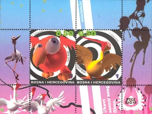 [Young Philatelists - Cartoon Characters, Typ ]