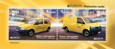 [EUROPA Stamps - Postal Vehicles, Typ ]