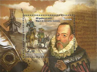 [The 400th Anniversary of the Death of Miguel de Cervantes, 1547-1616, Typ ]