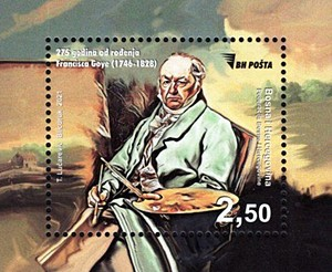 [The 275th Anniversary of the Birth of Francisco Goya, 1746-1828, type ]