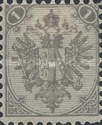 [Eagle - Lithographed. All 3 Eaglets on Right Side of Escutcheon are Blank, Typ AAA1]