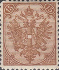 [Eagle - Lithographed. All 3 Eaglets on Right Side of Escutcheon are Blank, Typ AAA8]