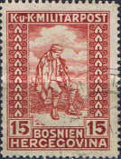 [Charity Stamps - Colored Numerals, type ABX1]