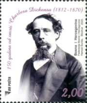 [The 150th Anniversary of the Death of Charles Dickens, 1812-1870, type AGD]