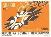 [The 10th Anniversary of the Winter Olympic Games in Sarajevo, Typ B]
