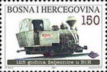 [The 125th Anniversary of the Bosnien-Herzegowina Railroad, Typ CJ]
