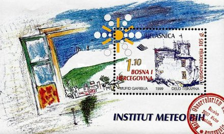[The 105th Anniversary of the Metrologic Observatory in Bjelasnica, Typ FU]