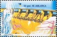 [The 50th Anniversary of Jablanica Power Plant, Typ MM]