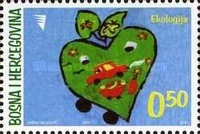 [Ecology - Local Competition for the Young Philatelists, type QV]