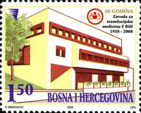 [The 50th Anniversary of the Blood Transfusion Service, Typ RI]